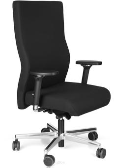 Fotel biurowy Topstar XXL z wysokim oparciem, dla osób z nadwagą