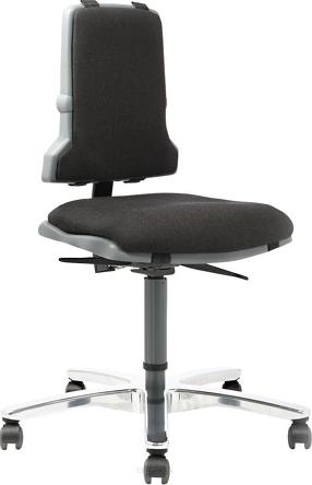 Krzesło warsztatowe Sintec 160, dla osób z nadwagą